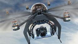 Luftaufnahmen mit Drohne