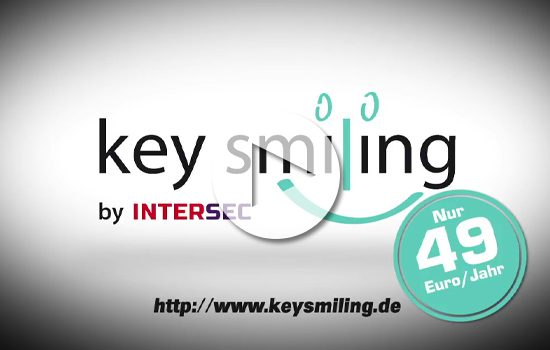 Werbespot Keysmiling by InterSec