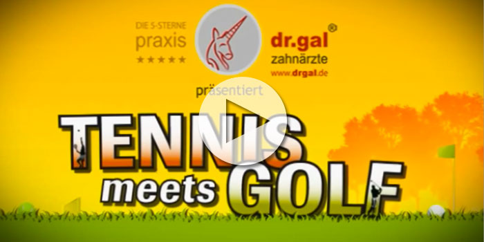 Dr Jos Gal - Tennis meets Golf