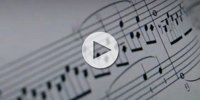 Werbefilm - Kunst trifft Musik
