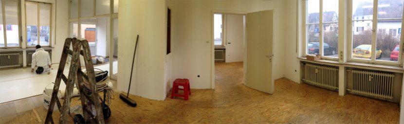 Büro Renovierung Teil1
