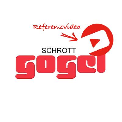 Schrott Gogel Backnang Referenzvideo Bianca Grindler und Thomas Auch für das Aufnahmeteam